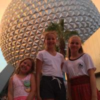 Hjemme-pool-dag og Disney's Epcot