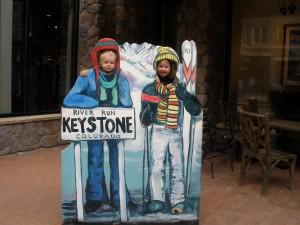 Herman og Ingrid Marie i Keystone