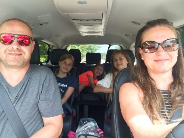 På vej til Clearwater Beach
